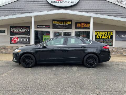 2014 Ford Fusion for sale at Stans Auto Sales in Wayland MI
