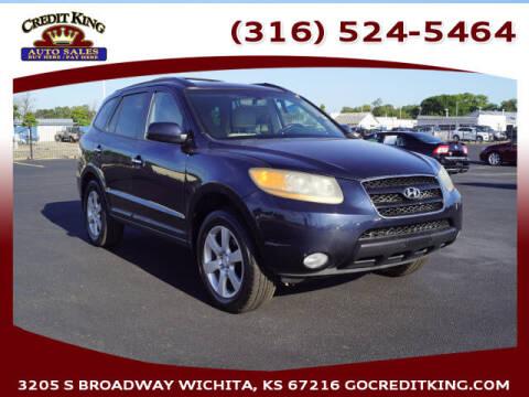 2009 Hyundai Santa Fe for sale at Credit King Auto Sales in Wichita KS
