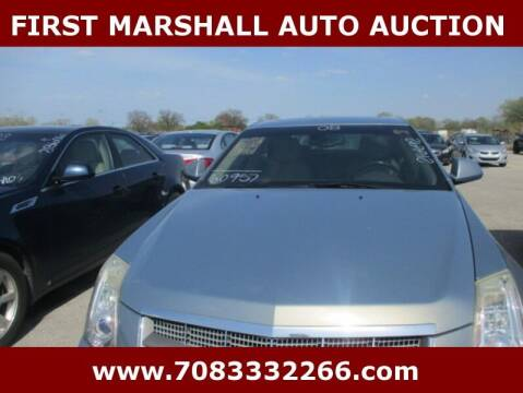 2008 Cadillac CTS for sale at First Marshall Auto Auction in Harvey IL
