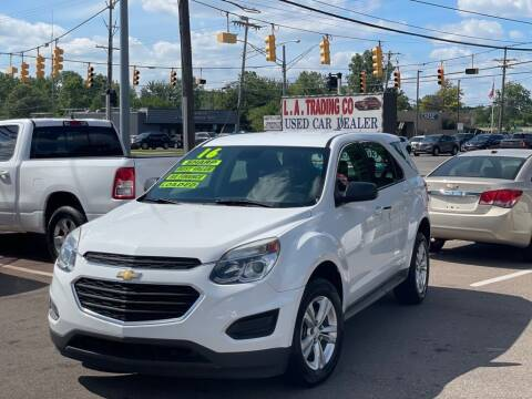 2016 Chevrolet Equinox for sale at L.A. Trading Co. Woodhaven in Woodhaven MI