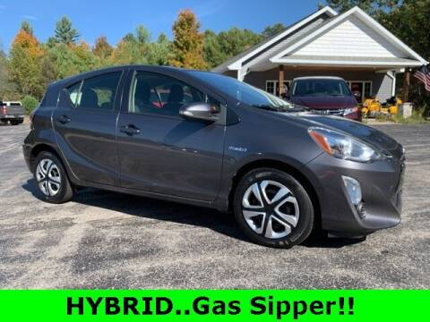 2015 Toyota Prius c for sale at Drivers Choice Auto & Truck in Fife Lake MI