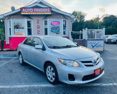 2012 Toyota Corolla for sale at Auto Finders Unlimited LLC in Vineland NJ