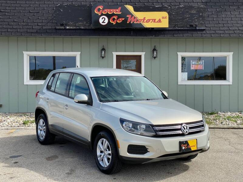 2013 Volkswagen Tiguan for sale at Good 2 Go Motors LLC in Adrian MI