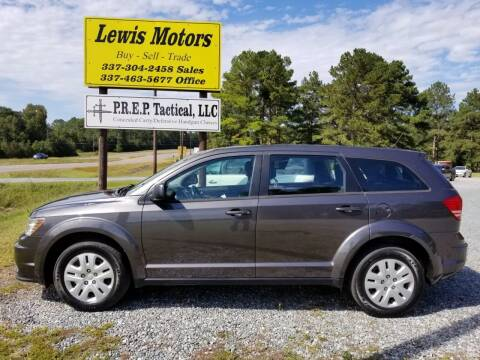 2015 Dodge Journey for sale at Lewis Motors LLC in Deridder LA