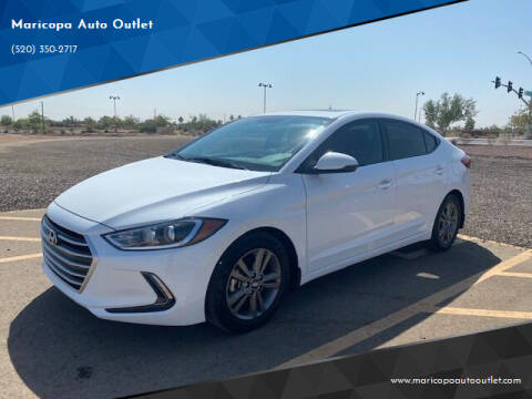 2018 Hyundai Elantra for sale at Maricopa Auto Outlet in Maricopa AZ