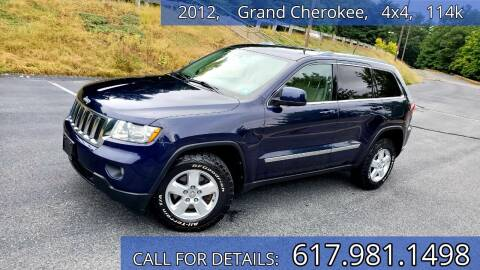 2012 Jeep Grand Cherokee for sale at Wheeler Dealer Inc. in Acton MA