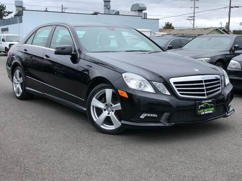 2011 Mercedes-Benz E-Class for sale at Lux Motors in Tacoma WA