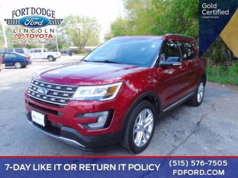2017 Ford Explorer for sale at Fort Dodge Ford Lincoln Toyota in Fort Dodge IA