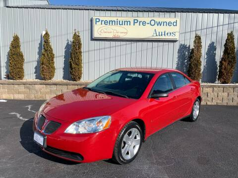 2007 Pontiac G6 for sale at PREMIUM PRE-OWNED AUTOS in East Peoria IL