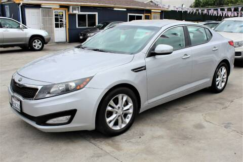 2013 Kia Optima for sale at FJ Auto Sales in North Hollywood CA
