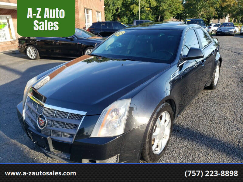 2009 Cadillac CTS for sale at A-Z Auto Sales in Newport News VA