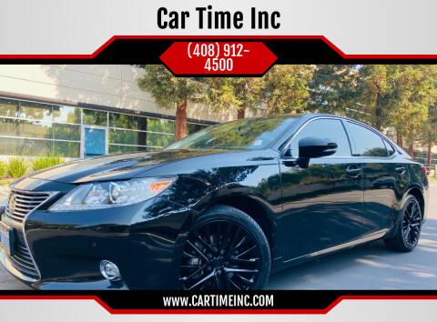 2015 Lexus ES 350 for sale at Car Time Inc in San Jose CA