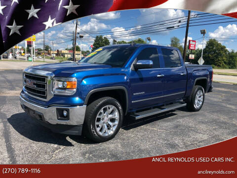 2015 GMC Sierra 1500 for sale at Ancil Reynolds Used Cars Inc. in Campbellsville KY