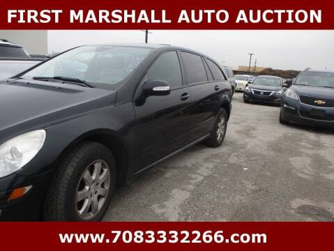 2006 Mercedes-Benz R-Class for sale at First Marshall Auto Auction in Harvey IL