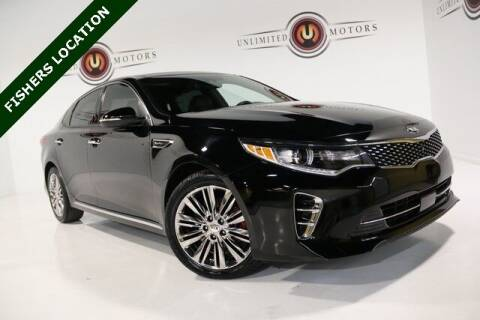 2016 Kia Optima for sale at Unlimited Motors in Fishers IN