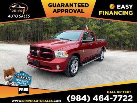 2014 RAM Ram Pickup 1500 for sale at Drive 1 Auto Sales in Wake Forest NC