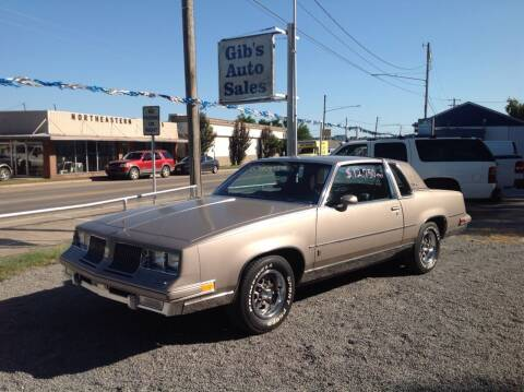 1983 Oldsmobile Cutlass Supreme for sale at GIB'S AUTO SALES in Tahlequah OK