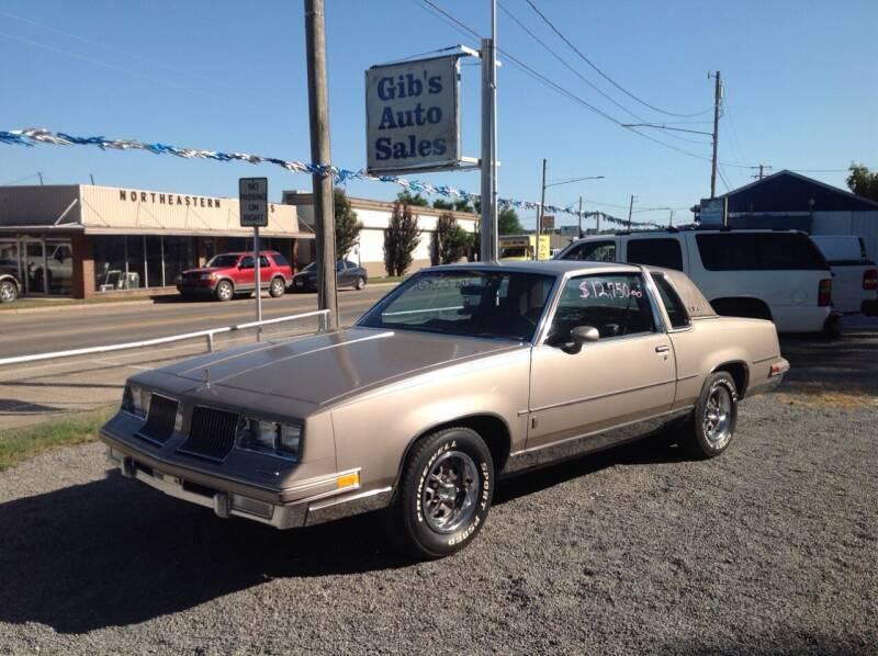 1983 Oldsmobile Cutlass Supreme for sale in Tahlequah, OK