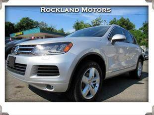 2012 Volkswagen Touareg for sale at Rockland Automall - Rockland Motors in West Nyack NY