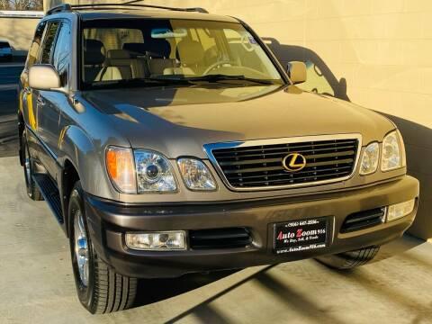 1999 Lexus LX 470 for sale at Auto Zoom 916 in Rancho Cordova CA