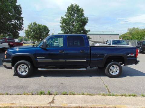 2006 Chevrolet Silverado 2500HD for sale at CR Garland Auto Sales in Fredericksburg VA