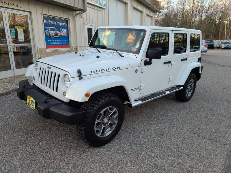 2014 Jeep Wrangler Unlimited for sale at Medway Imports in Medway MA
