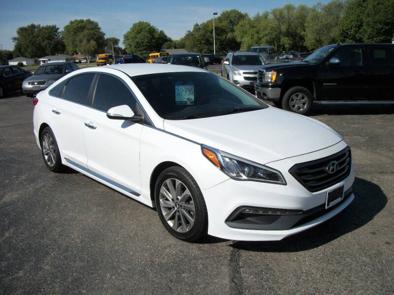 2015 Hyundai Sonata for sale at USED CAR FACTORY in Janesville WI