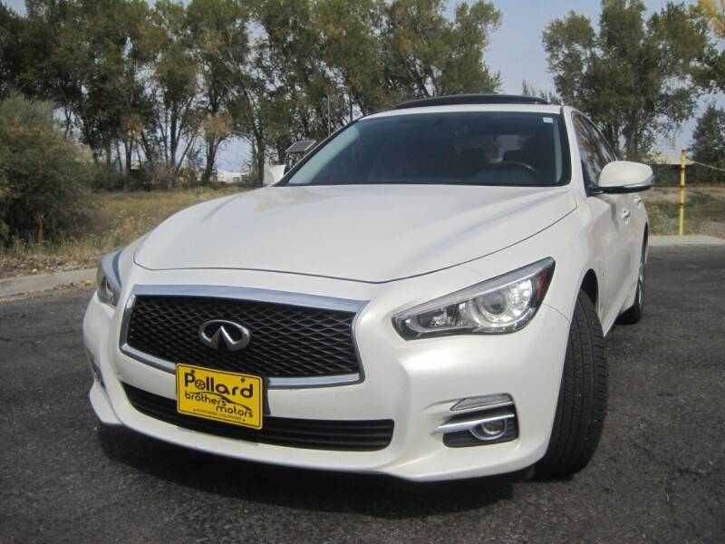 2014 Infiniti Q50 for sale at Pollard Brothers Motors in Montrose CO