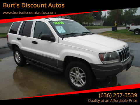 2003 Jeep Grand Cherokee for sale at Burt's Discount Autos in Pacific MO