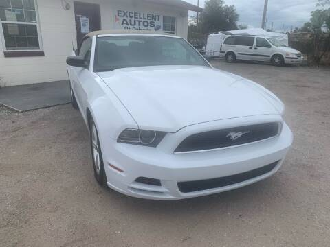 2014 Ford Mustang for sale at Excellent Autos of Orlando in Orlando FL