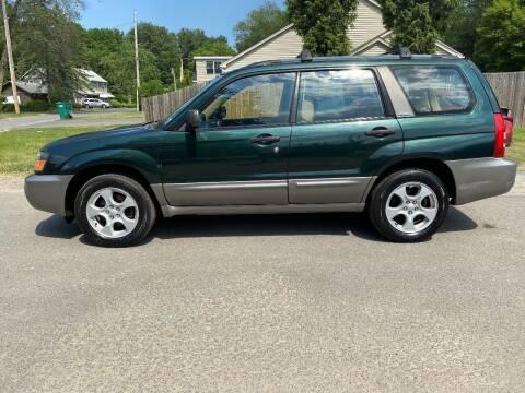2003 Subaru Forester for sale at ALL Motor Cars LTD in Tillson NY