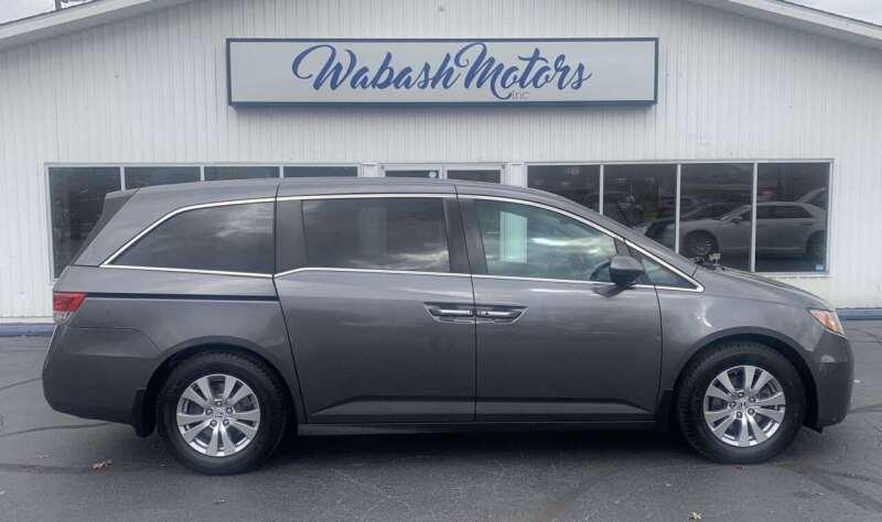 2016 Honda Odyssey for sale at Wabash Motors in Terre Haute IN