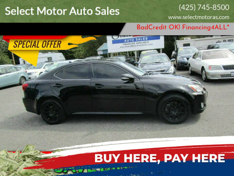 2010 Lexus IS 250 for sale at Select Motor Auto Sales in Lynnwood WA