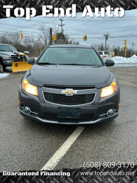 2014 Chevrolet Cruze for sale at Top End Auto in North Atteboro MA