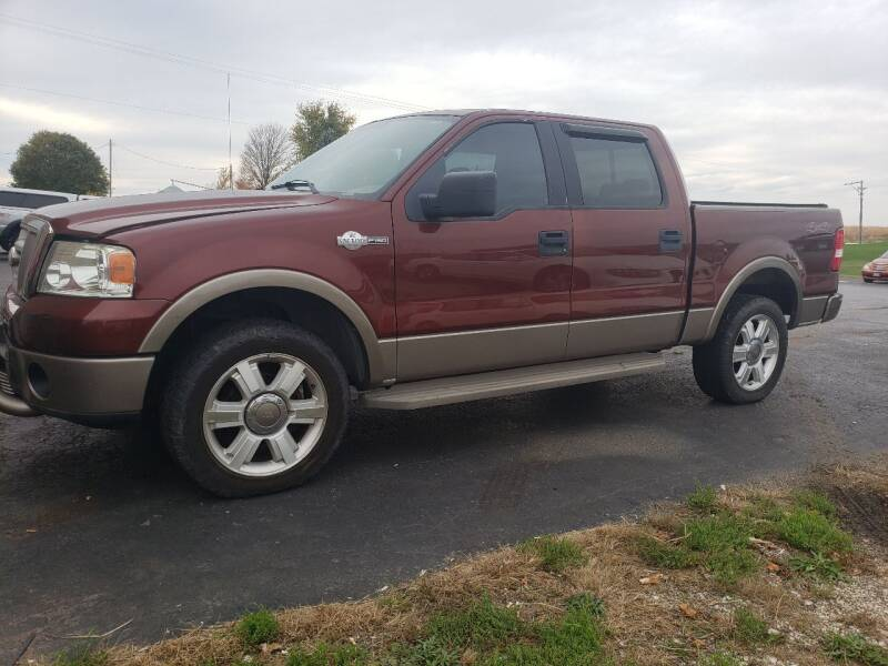 2006 Ford F-150 for sale at Tumbleson Automotive in Kewanee IL