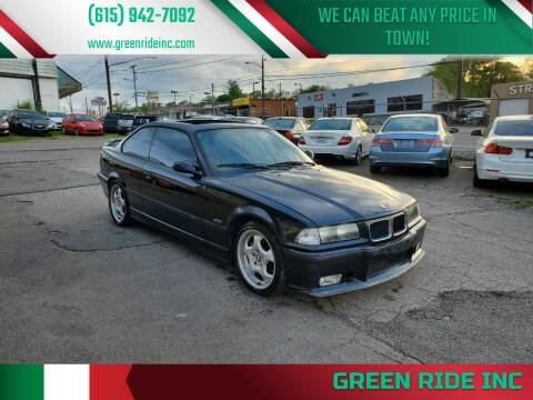 1996 BMW M3 for sale at Green Ride Inc in Nashville TN