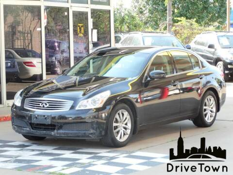 2007 Infiniti G35 for sale at Drive Town in Houston TX