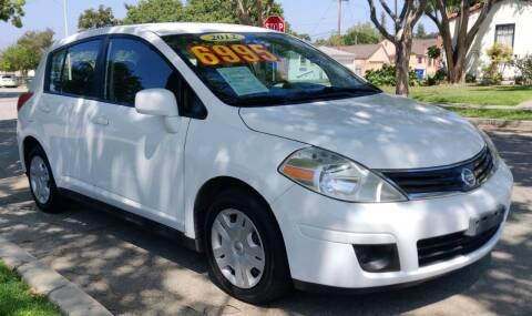 2012 Nissan Versa for sale at Apollo Auto El Monte in El Monte CA