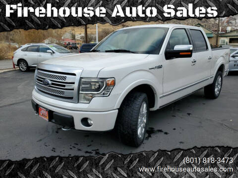 2014 Ford F-150 for sale at Firehouse Auto Sales in Springville UT