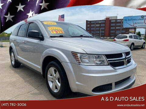 2013 Dodge Journey for sale at A & D Auto Sales in Joplin MO