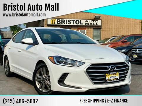 2018 Hyundai Elantra for sale at Bristol Auto Mall in Levittown PA