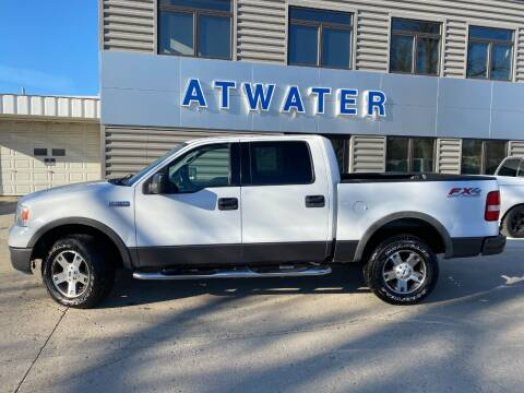 2004 Ford F-150 for sale at Atwater Ford Inc in Atwater MN