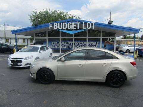 2011 Chevrolet Cruze for sale at THE BUDGET LOT in Detroit MI