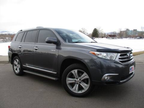 2012 Toyota Highlander for sale at Nations Auto in Lakewood CO
