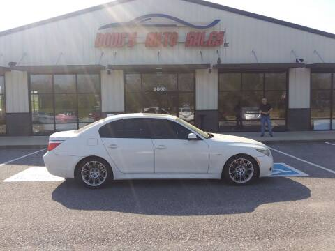 2010 BMW 5 Series for sale at DOUG'S AUTO SALES INC in Pleasant View TN