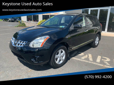 2013 Nissan Rogue for sale at Keystone Used Auto Sales in Brodheadsville PA
