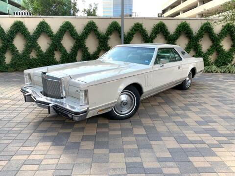 1978 Lincoln Mark V for sale at ROGERS MOTORCARS in Houston TX
