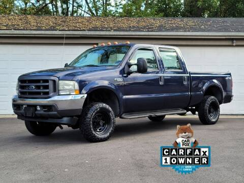 2004 Ford F-250 Super Duty for sale at Riverfront Auto Sales in Middletown OH