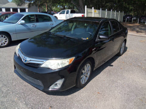 2012 Toyota Camry Hybrid for sale at ORANGE PARK AUTO in Jacksonville FL