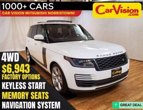 2018 Land Rover Range Rover for sale at Car Vision Buying Center in Norristown PA